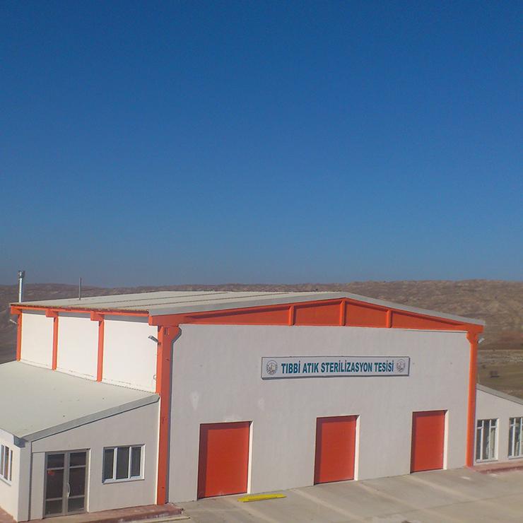 Sivas Stadtgemeinde- Sterilisationsanlage für Medizinische Abfälle