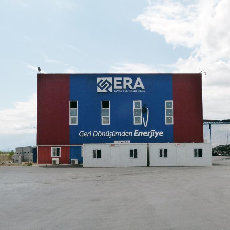 Erzincan Anlage für Altreifenrecycling/-wiederverwendung und Kraftwerk