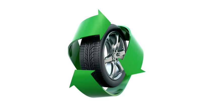 Altreifenrecycling/-wiederverwendung