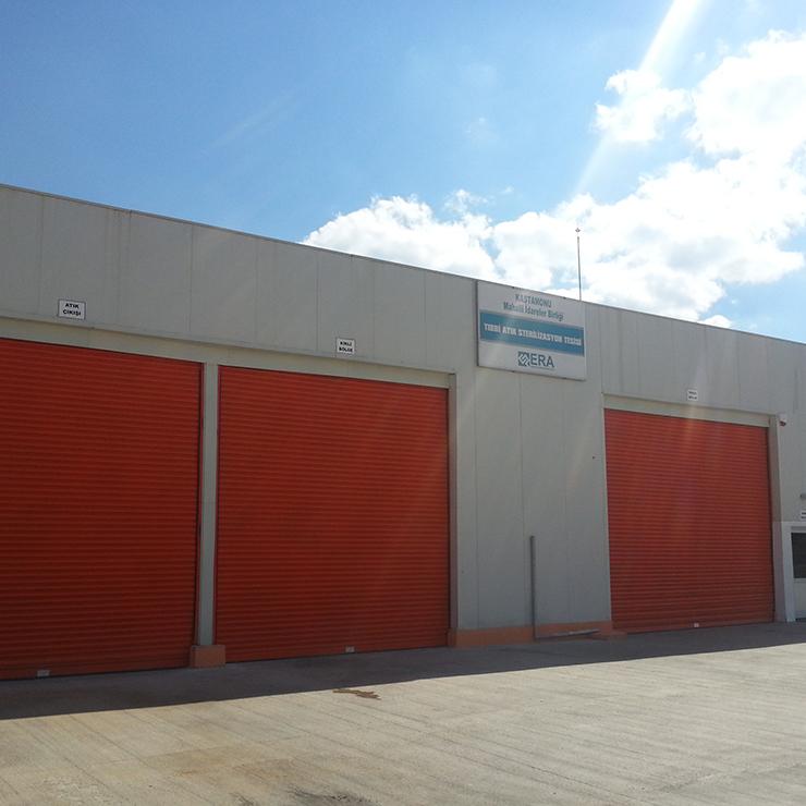 Kastamonu Local Authorities Association (KASMİB) Medical Waste Sterilization Plant