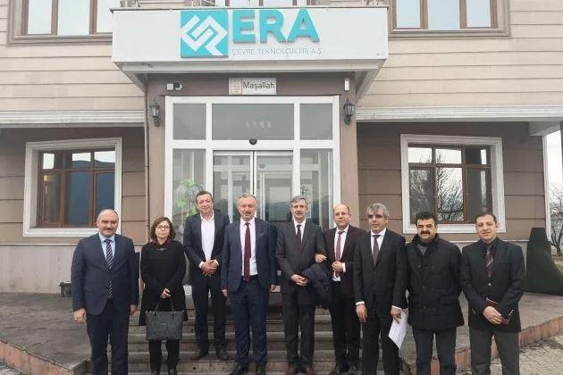 Erzincan Binali Yıldırım Üniversitesi Rektörü Prof. Dr. Akın Levent in Sanayi İşbirliği Kapsamında tesisimize ziyareti