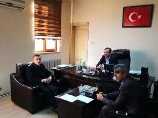 Erzincan Binali Yıldırım Üniversitesi tarafından ARGE Faaliyetleri Kapsamında Tesisimize Ziyaret